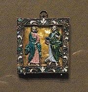 Ss. Peter and Paul pendant (Russia, 1670-80s, GTG) by shakko.jpg